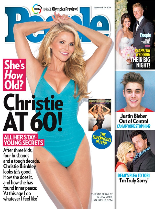 Christie Brinkley, People Magazine
