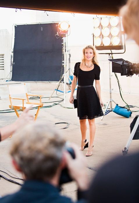 Kate Hudson, Ann Taylor, EXCLUSIVE, Embargoed until 11am 1.29.14