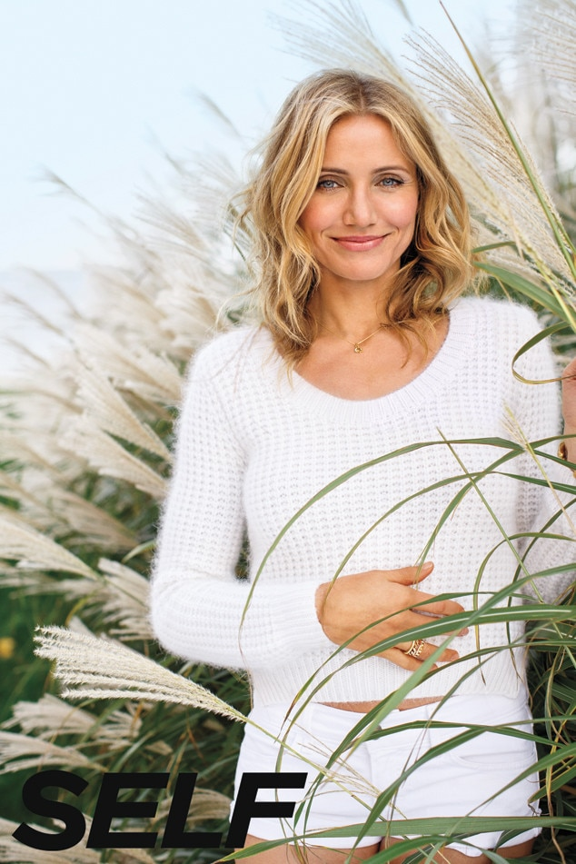 Cameron Diaz, SELF Magazine