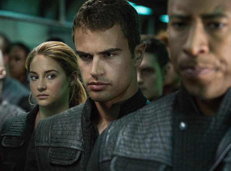 Divergent, Shailene Woodley, Theo James