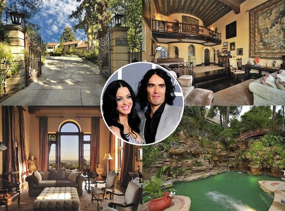 Katy Perry, Russell Brand, House