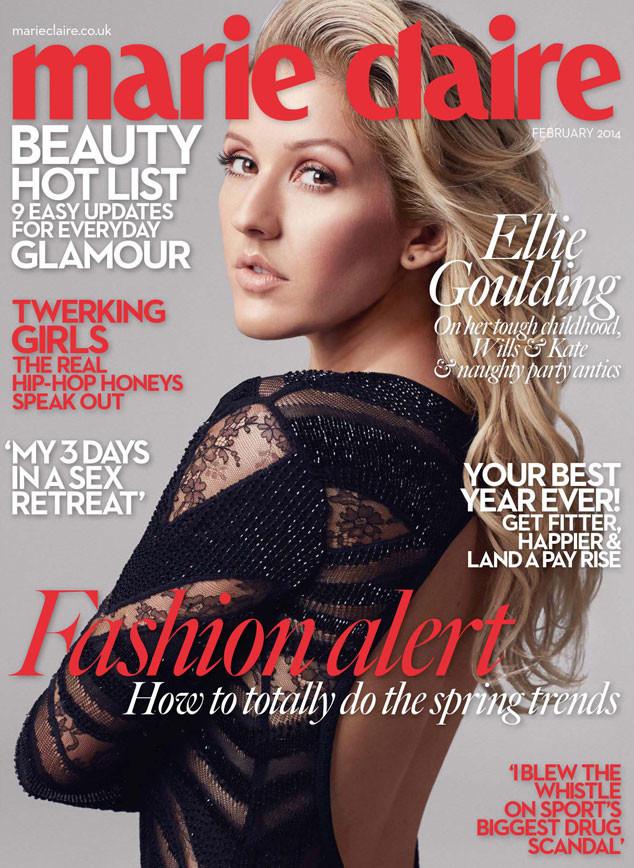 Marie Claire UK, Ellie Goulding