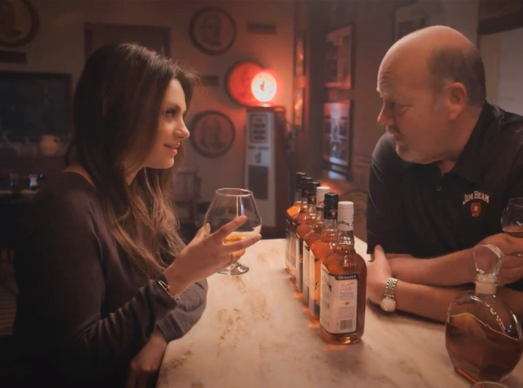 Mila Kunis, Jim Beam Commercial