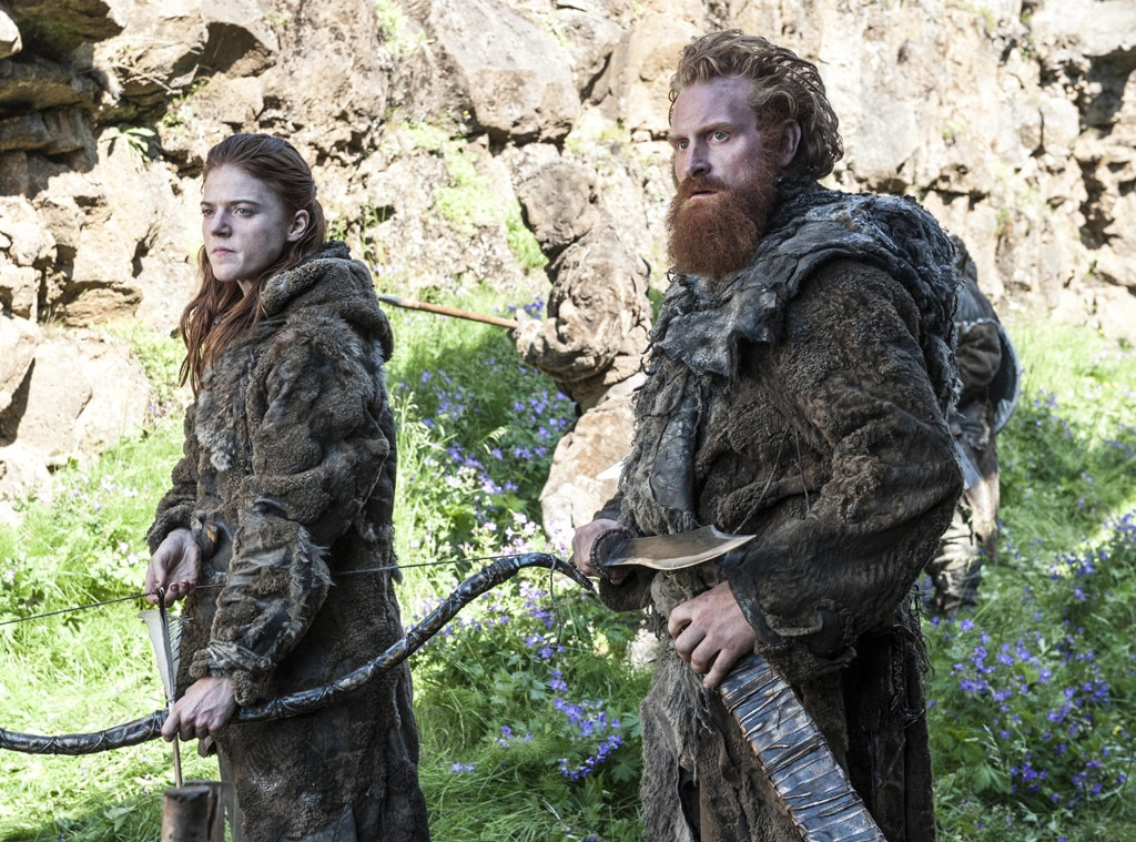 Rose Leslie, Kristofer Hivju, Game of Thrones