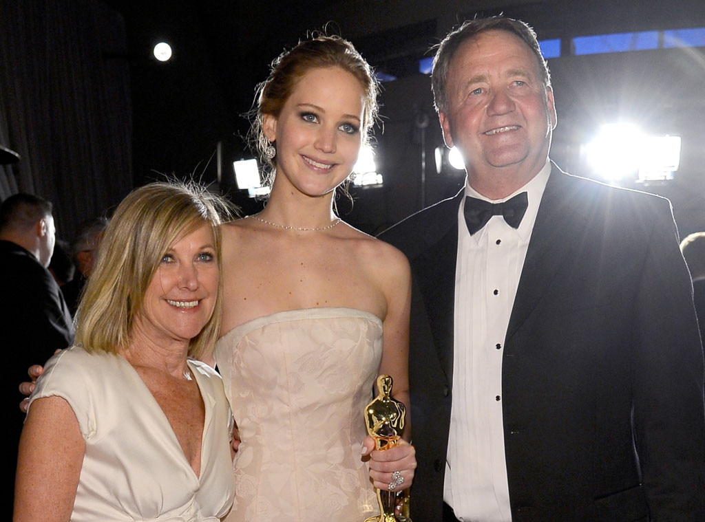 Jennifer Lawrence, Karen Lawrence, Gary Lawrence, Celeb Parents