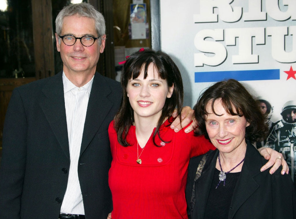 Caleb Deschanel, Zooey Deschanel, Mary Jo Deschanel, Celeb Parents