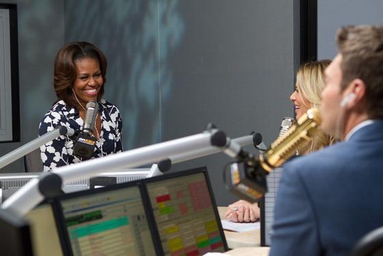 Michelle Obama, Ryan Seacrest