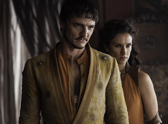 Pedro Pascal, Indira Varma, Game of Thrones