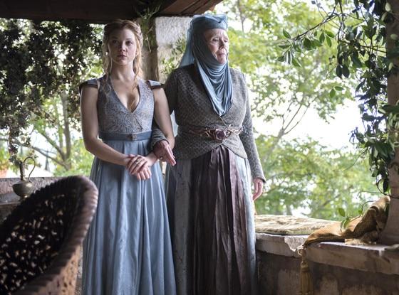 Natalie Dormer, Diana Rigg, Game of Thrones