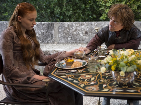 Sophie Turner, Peter Dinklage, Game of Thrones