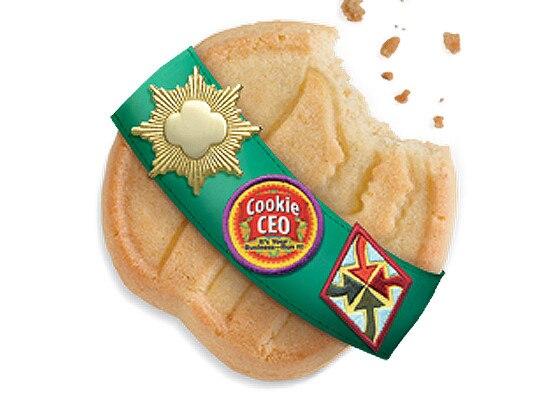 Girl Scout Cookies, Shortbreads, Trefoils