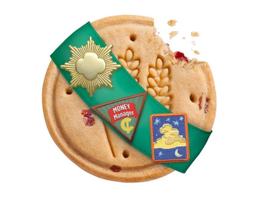 Girl Scout Cookies, Cranberry Citrus Crisps