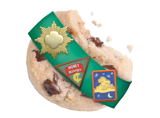 Girl Scout Cookies, Chocolate Chip Shortbread