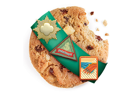 Girl Scout Cookies, Thank You Berry Munch