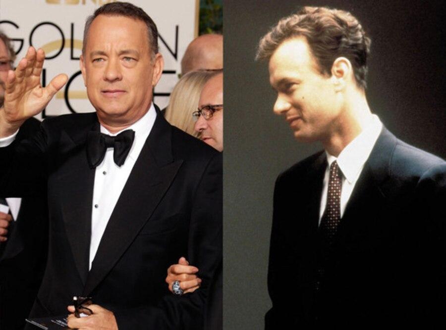 Tom Hanks, Body Transformations