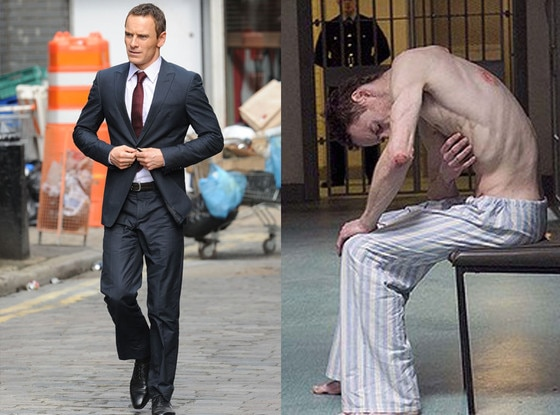 Michael Fassbender, Body Transformations
