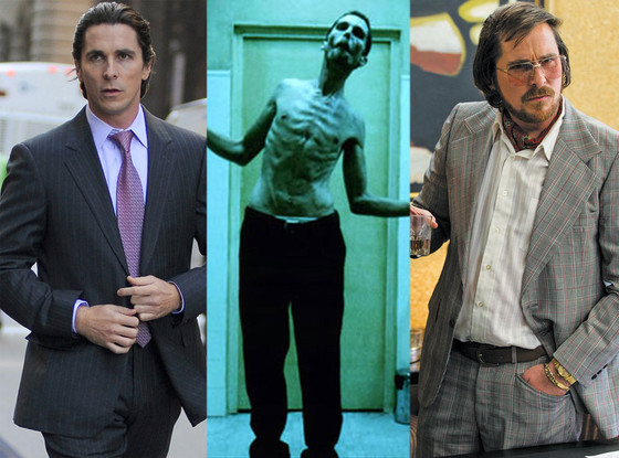 Christian Bale, Body Transformations