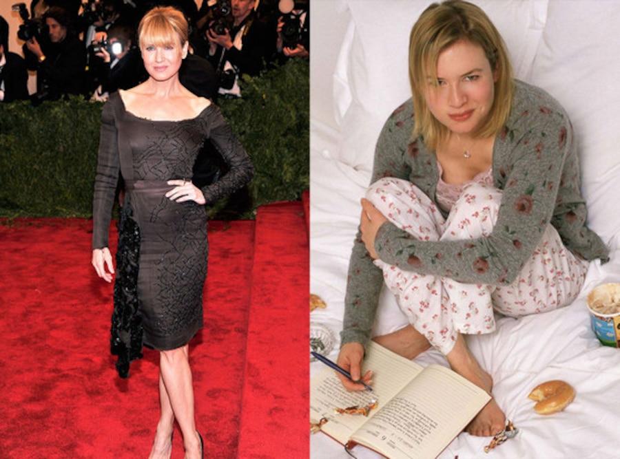 Renee Zellweger, Body Transformations