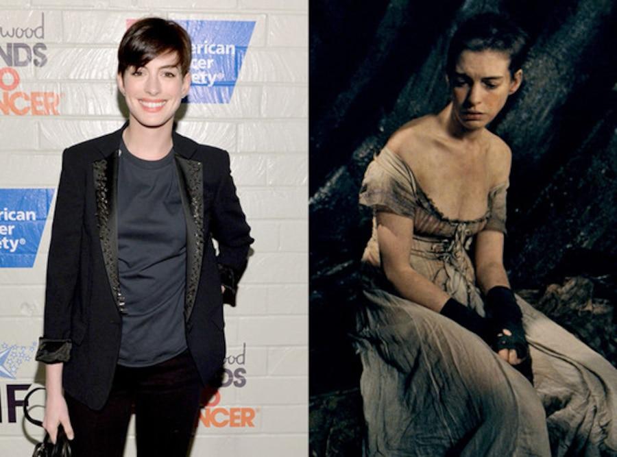 Anne Hathaway, Body Transformations