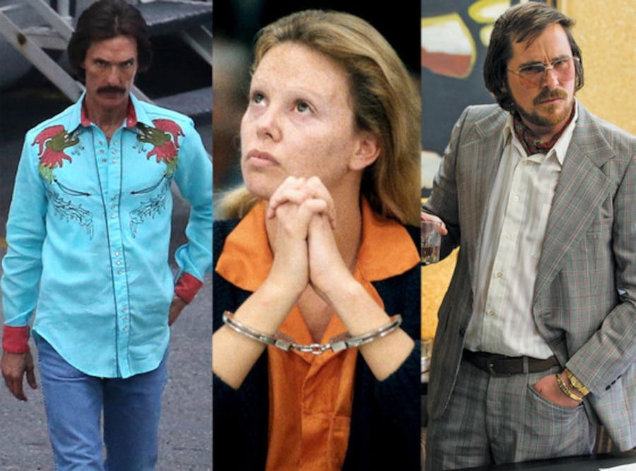 Body Transformations, Matthew McConaughey, Charlize Theron, Christian Bale