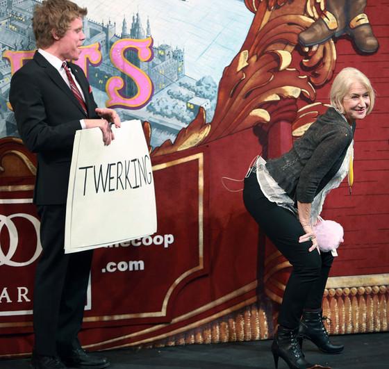 Helen Mirren, Twerking