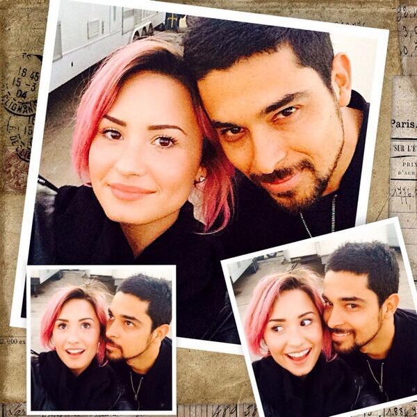 Demi Lovato, Wilmer Valderrama, Instagram