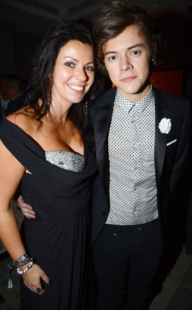 Harry Styles, Anne Cox, Celeb Parents