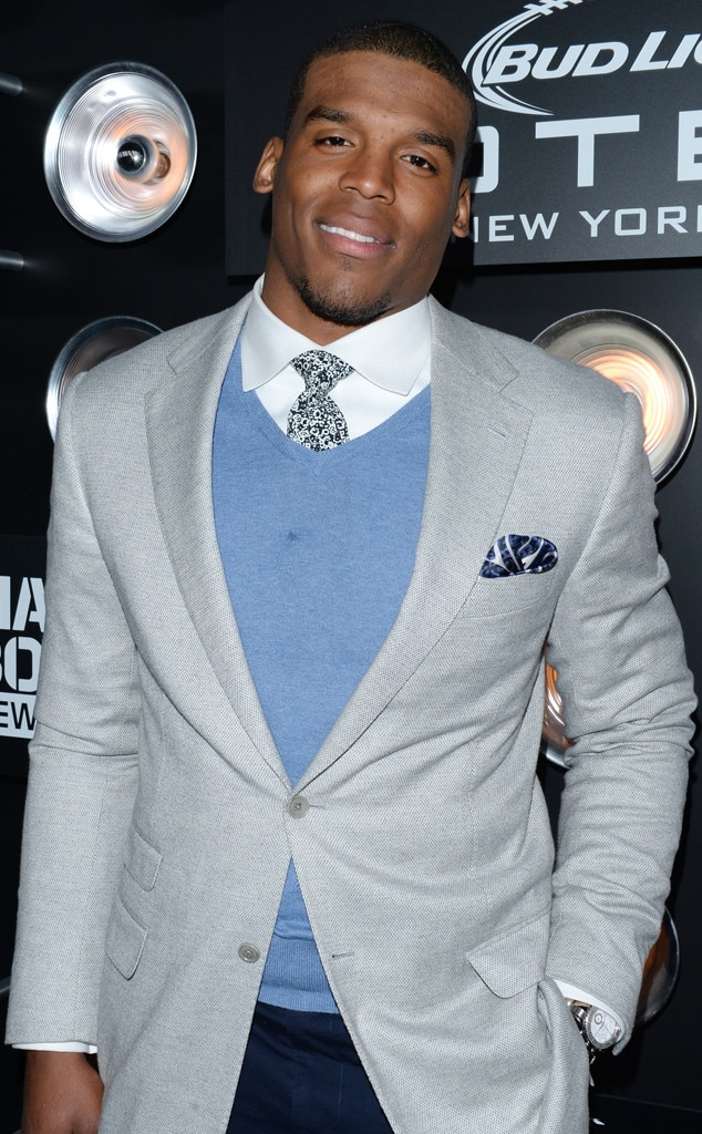 Cam Newton, Bud Light Hotel Blue Carpet