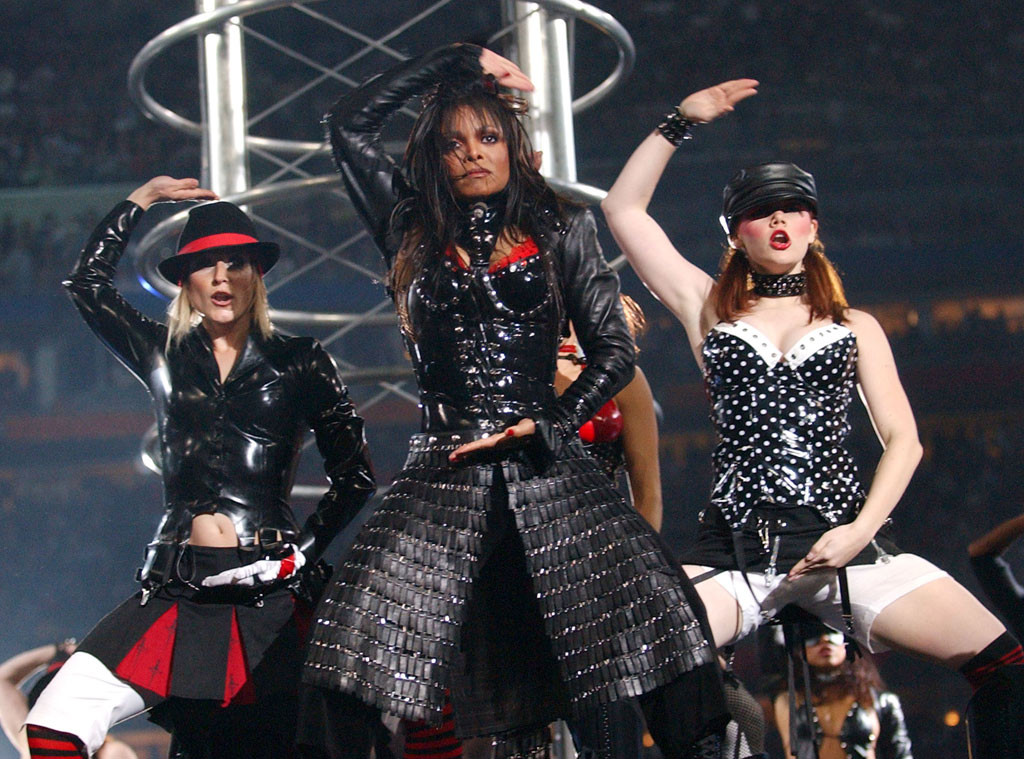 Janet Jackson's Wardrobe Malfunction: Remembering ...