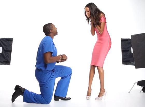 Quiana Grant, Dr. James Pinckney, Engagement Video