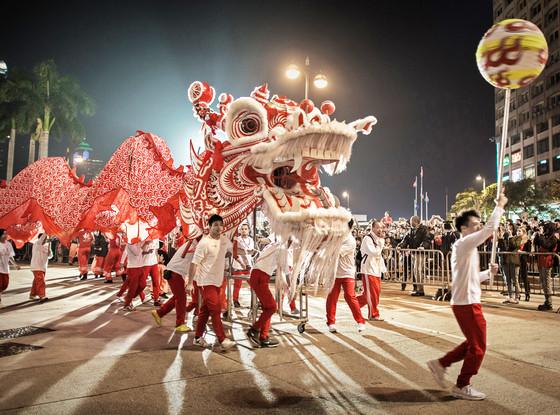 Chinese New Year, Hong Kong