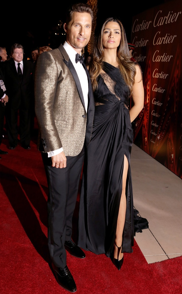 Matthew McConaughey, Camila Alves, Palm Springs International Film Festival
