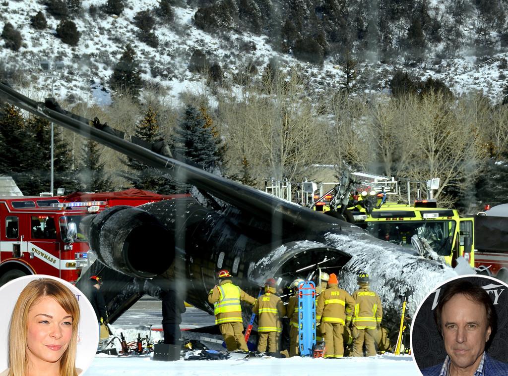 Aspen Plane Crash, LeAnn Rimes, Kevin Nealon
