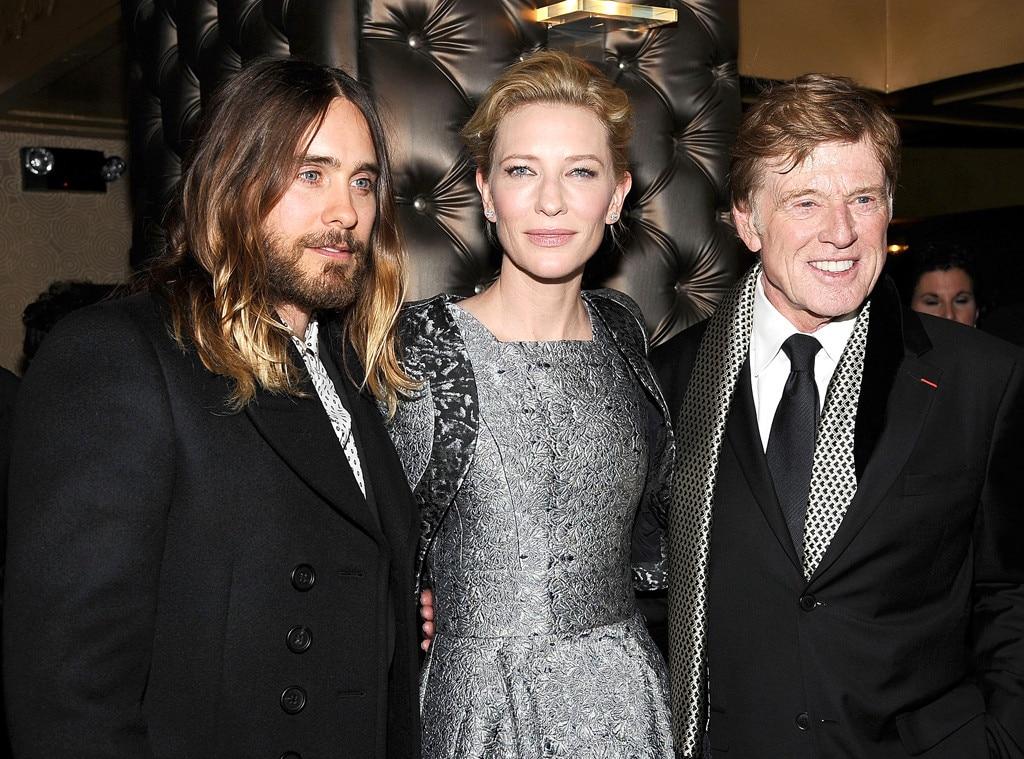 Jared Leto, Cate Blanchett, Robert Redford
