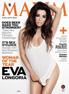 Eva Longoria, Maxim Magazine, Woman of the Year