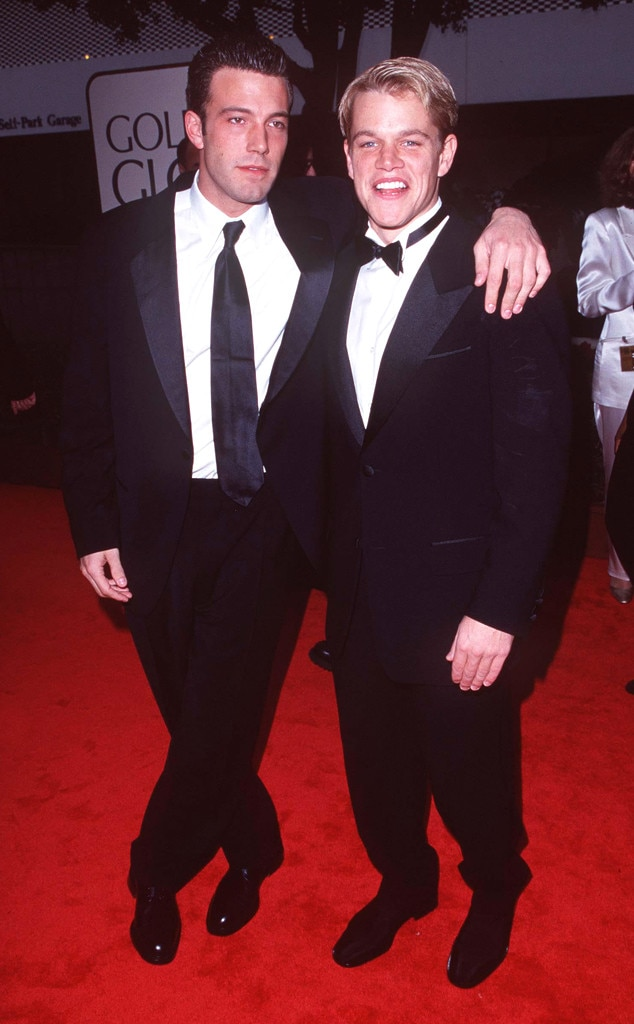 Ben Affleck, Matt Damon, Golden Globes