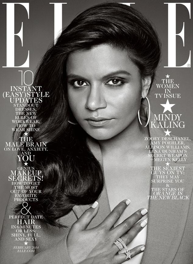 Mindy Kaling, Elle Magazine