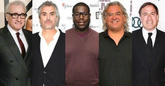 Director's Guild Awards, Martin Scorsese, Alfonso Cuaron, Steve McQueen, Paul Greengrass, David O. Russell