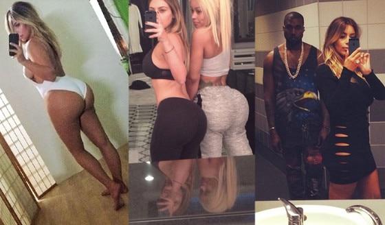 Kim Kardashian, Selfies, Instagram