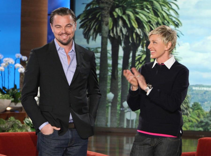 Leonardo DiCaprio, Ellen DeGeneres