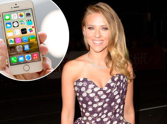 Scarlett Johansson, iPhone