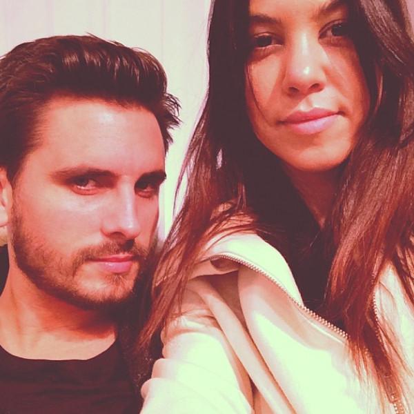 Kourtney Kardashian, Scott Disick, Instagram