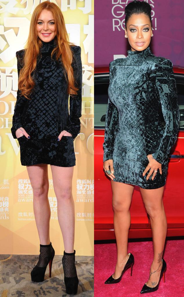 Lindsay Lohan, La La Anthony