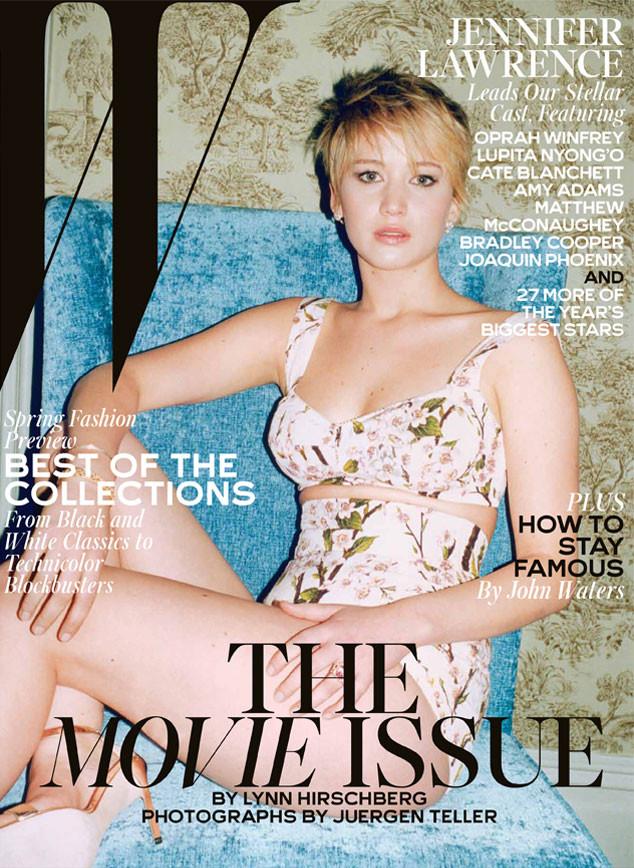 Jennifer Lawrence, W Magazine