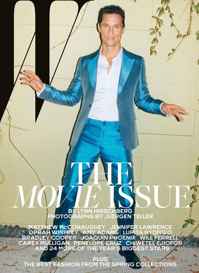 Matthew McConaughey, W Magazine