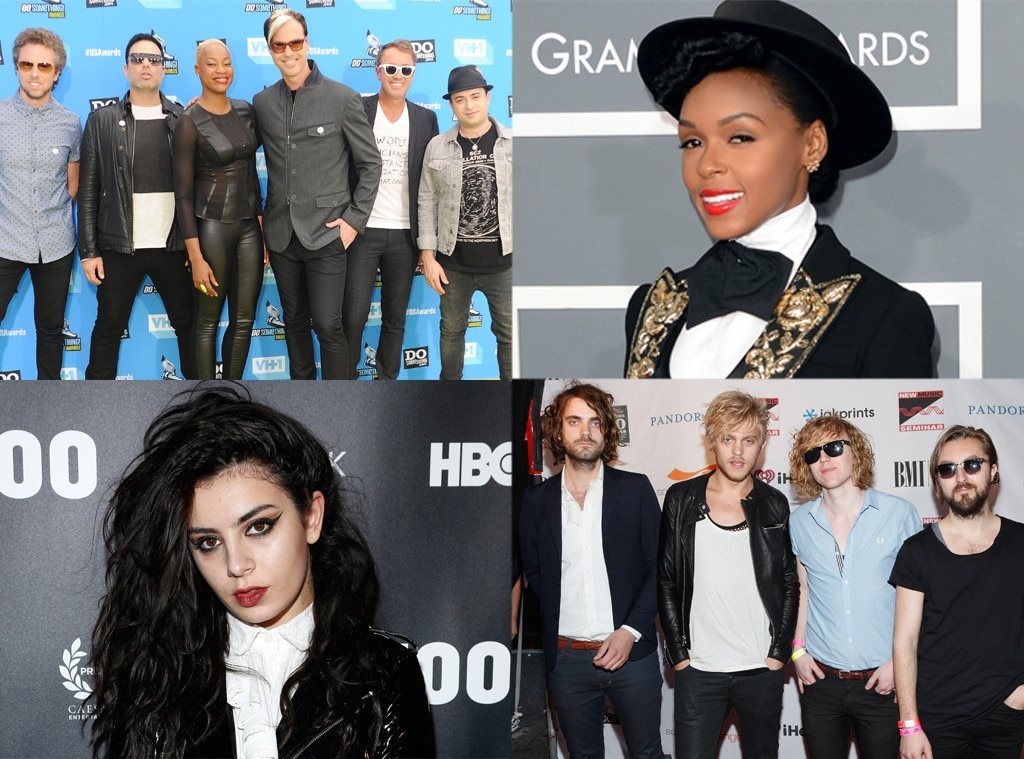 The Royal Concept, Fitz and The Tantrums, Janelle Monae, Charli XCX