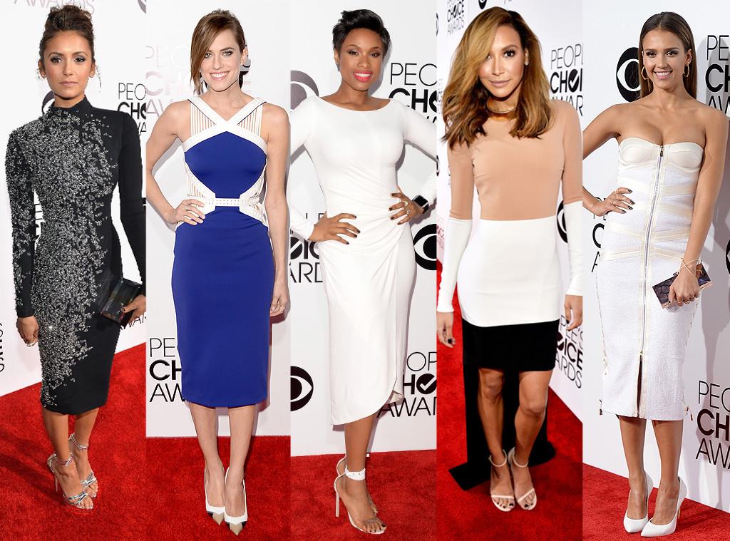 Jessica Alba, Allison Williams, People's Choice Awards