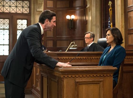 Mariska Hargitay, Pablo Schreiber, Olivia Benson, Law & Order