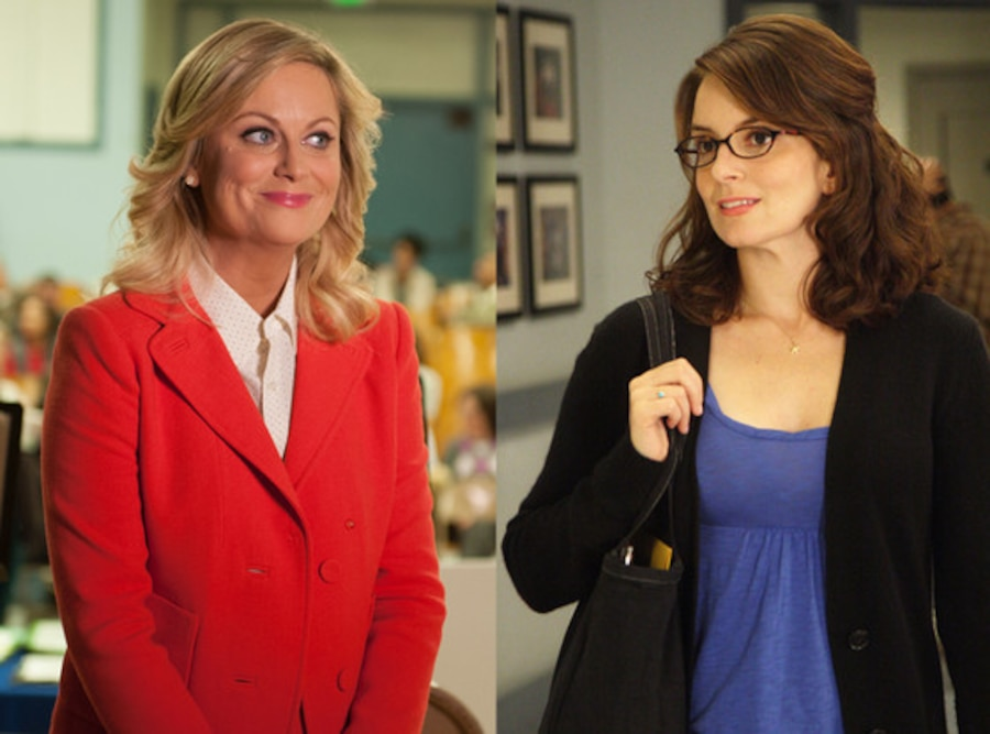 Amy Poehler, Parks and Recreation, Tina Fey, 30 Rock