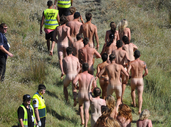 Skinny Dipping in Spain